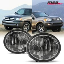 For 01-07 Toyota Sequoia PAIR OE Factory Fit Fog Light Bumper Kit Clear Lens