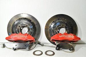 2016-2019 Mazda Miata MX-5 Wilwood 6 Piston Big Brake Kit W/Adapter Mounts 16-19