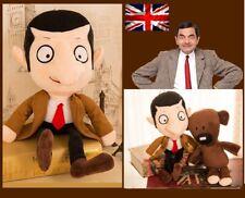 Movie Mr Bean+Teddy Bear Soft Dolls Stuffed Animal Plush Toy Kid 80/50/30cmgift