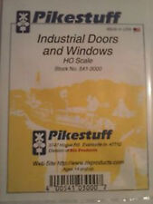 Rix Products - Pikestuff- Ho Scale Industrial Doors & Windows 541-3000