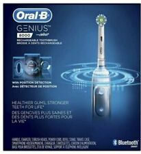 Oral B Genius Electronic Rechargeable Rotating Toothbrush White