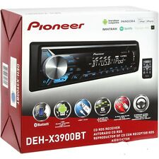 Pioneer DEHX3900BT 1 DIN Bluetooth In-Dash CD/AM/FM Car Stereo Receiver