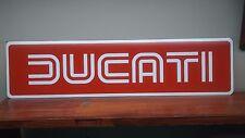 """DUCATI Aluminum sign 6"""" x 24"""""""