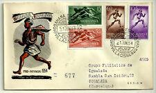 SOBRE PRIMER DÍA. SAHARA ESPAÑOL. PRO INFANCIA. 1954