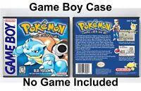 Pokemon Blue Version - Game Boy GB Case - *NO GAME*