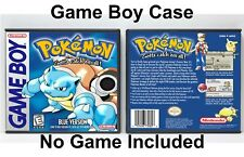 Pokemon Blue Version - Game Boy GB Case - *NO GAME*