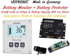 Votronic 12V 24V Lithium LiFePo4 Dual Battery Monitor Overdischarge Protect BMS