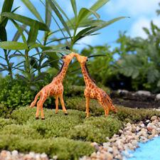 Giraffe Miniatures Fairy Garden Bonsai Landscape Decoration Diy Dollhouse Crafts