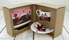 GARY BASEMAN 'Creamy Goodness', 2010 SIGNED Limited Edition Cup, Saucer & Print