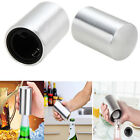Stainless Steel Bottle Opener Automatic Push Down Soda Beer Bar Cap Opening Tool