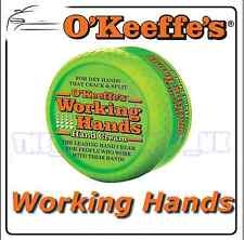 O'Keeffe's Working HANDS Cream for Split Skin, Hacks Hacked Cracked, Non-Greasy