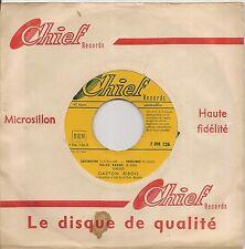"45 TOURS / 7"" SINGLE--GASTON RIBOIS--A LA BASTILLE / JE CHERCHE FORTUNE"