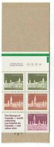 1987 Canada-SC-BK 92b Parliament Buildings,Harrison paper-Booklet of 5-M-NH