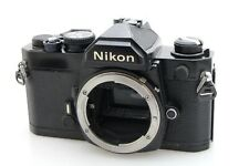 Nikon FM Film Camera Body Black. Fully working for Nikon AI / AIS Lenses