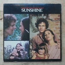 Sunshine Soundtrack 1973 Vinyl LP MCA Records MCA 387