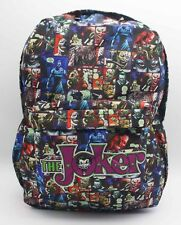 DC Batman The Joker Backpack School Bag 17' Cosplay Anime Color Laptop Bag