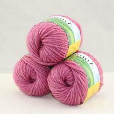 Sale New Chunky Warm Wool Velvet Wrap Shawl Hand Knitting Yarn  3Skeins x50gr 05