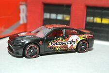 Hot Wheels - '15 Dodge Charger SRT - Black - Loose 1:64 - Mopar