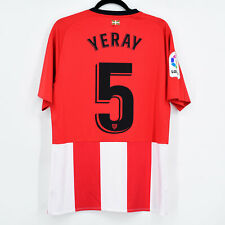 2018-19 Athletic Club Bilbao Home Shirt Player Issue #5 YERAY Jersey