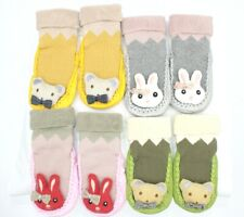 New Infant Baby Girl/Boy Toddler Anti-slip Warm Slippers Socks Cotton Crib Shoe