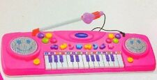 New Pink keyboard toy-lights & sounds musical fun for all ages