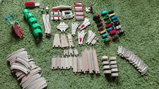 Brio Holzeisenbahn Konvolut, sehr viele Teile