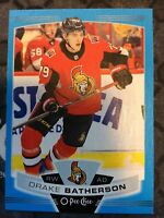 O-Pee-Chee 2019-2020 DRAKE BATHERSON BLUE BORDER HOCKEY CARD #51