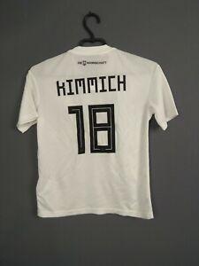 Kimmich Germany Jersey 2018 2019 Home Kids Boys 11-12 y Shirt Adidas BQ8460 ig93