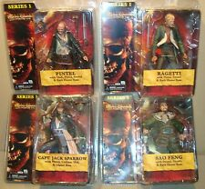 PIRATES OF THE CARIBBEAN AT WORLD'S END SERIES 1 SET NECA 2007 (JACK SPARROW)