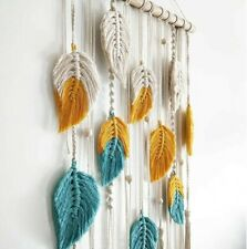 Bohemian Hand-woven Macrame Wall Hanging Dream Catcher Tapestry Home Decor New#3