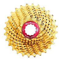Sunrace CSRZ1 Gold 11 speed Road Bike Cassette 11-28T/32T fit KMC X11SL Shimano