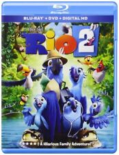 NEW Rio 2 (Blu-ray + DVD + DIGITAL HD, 2014, 2-Disc Set  MOVIE