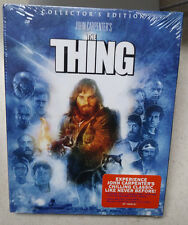 The Thing 2-Disc Blu-Ray NEW/SEALED WITH SLIPCOVER Scream Factory horror