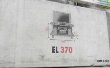Terraneo mueble tv EL370 roble marrón oscuro 100x50xh54 cm made in Italy nuevo