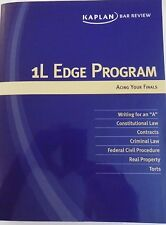 "KAPLAN 1L EDGE PROGRAM KAPLAN BAR REVIEW ""Acing Your Finals""  LAW SCHOOL 2012"