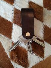 Schlüsselanhänger Exklusiv Leder für max. 3 Schlüssel viele Farben möglich neu
