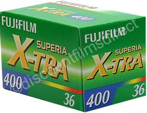 FUJI FUJICOLOR SUPERIA 400 35mm 36 exp.CHEAP COLOUR FILM by 1st CLASS POST