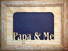 Papa and Me Photo Frame 5x7