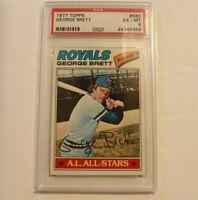 1977 Topps #580 George Brett Kansas City Royals HOF PSA 6 EX-MT