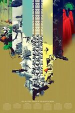 Military Forces of the Galactic Empire VARIANT Kevin Tong MONDO Star Wars poster