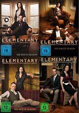 Elementary - Season/Staffel 1+2+3+4 (Lucy Liu) # 24-DVD-SET-NEU