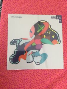 KAWS NGV JIGSAW PUZZLE STAY STEADY 1000 PIECES New And Sealed