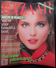 Vtg BAZAAR 12/1982 Diane Vreeland Charlotte Rampling Sophia Loren Farrah Fawcett