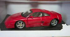 Hot Wheels Ferrari F355 Berlinetta Red 1:18 Scale Diecast Model Car