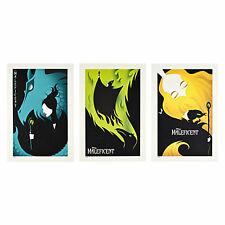 DISNEY MALEFICENT MOVIE LITHOGRAPH SET New Limited Edition 3000 Angelina Jolie