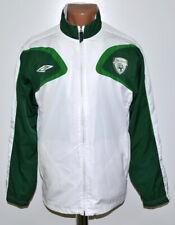 REPUBLIC OF IRELAND 2007/2008 TRAINING FOOTBALL JACKET UMBRO SIZE S ADULT