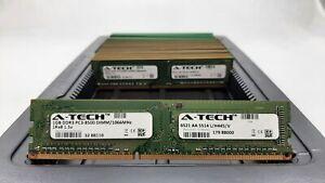 LOT 25 A-TECH 88110 1GB 1Rx8 DDR3 PC3-8500U 1067MHZ 1.5V NON ECC DIMM MEMORY RAM