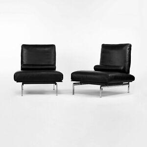 2001 B & B Italia Diesis Lounge Chair Pair by Antonio Citterio & Paulo Nava