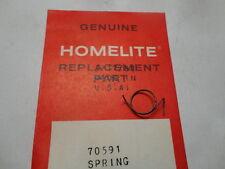 OEM Homelite 70591 Chainsaw Throttle Safety Lever Spring for VI Super 2