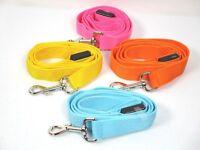 LED Light Up Dog Pet Leash Nylon Waterproof Safety Bright Flashing Adjustable